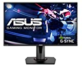Asus VG278QR - Monitor de Gaming de 27 Pulgadas, Full HD, 0,5 ms*, 165 Hz, G-Sync Compatible, Adaptive Sync, DVI, HDMI y Display Port