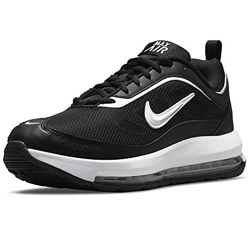 Nike Air MAX Ap, Zapatillas para Correr Hombre, Negro, Blanco y Gris, 49.5 EU