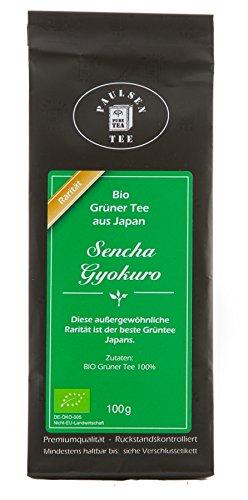 Paulsen Tee Grüner Tee Bio Sencha Gyokuro 100g (199,50 Euro /kg)
