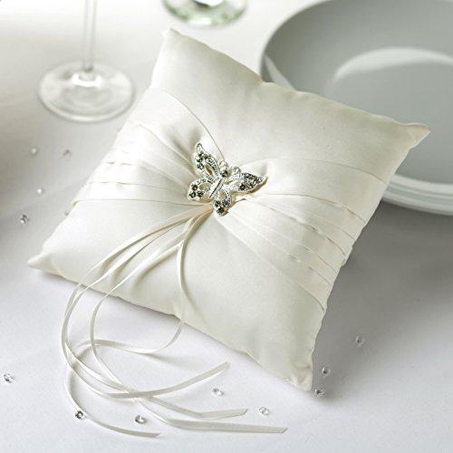 Ringkissen Elegant Butterflies Ivory 595785
