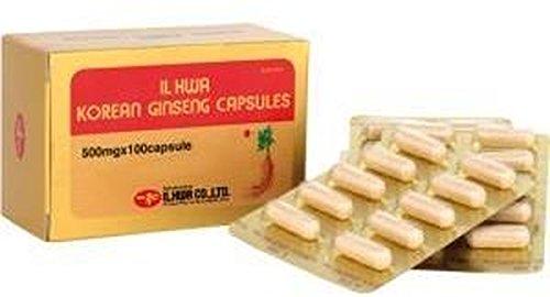 Ginseng Il Hwa 100 cápsulas de Tongil