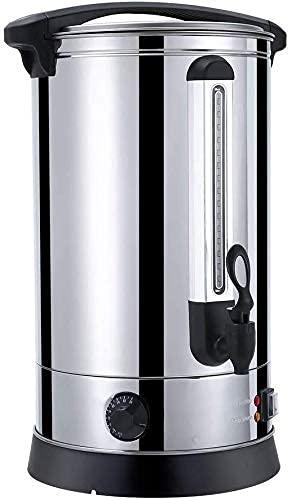 FHKBK Calentador de Agua instantáneo para urna de té Caliente de 30L,...
