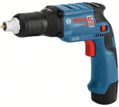 Bosch Professional 0.601.9E4.000 Atornillador a batería para construcción en seco, 10.8 W, 12 V