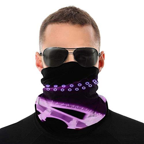 Trista Bauer Rollschuh Multifunktionale Halsmanschette Gesichtsschal Bandana für Staub Stirnband Nahtloser Halswärmer
