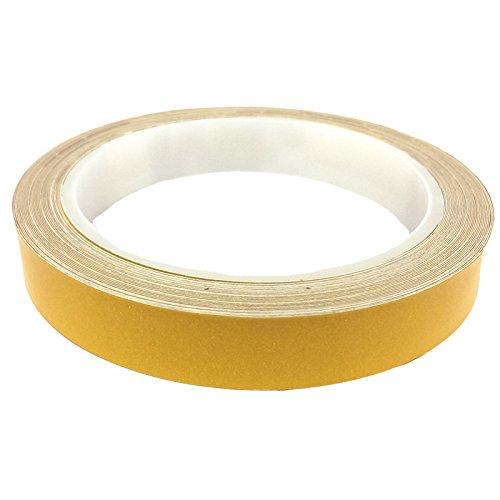 DonDo 3M 610C Reflektierendes Klebeband Reflexfolie Konturmarkierung Gelb 15mm x 10m