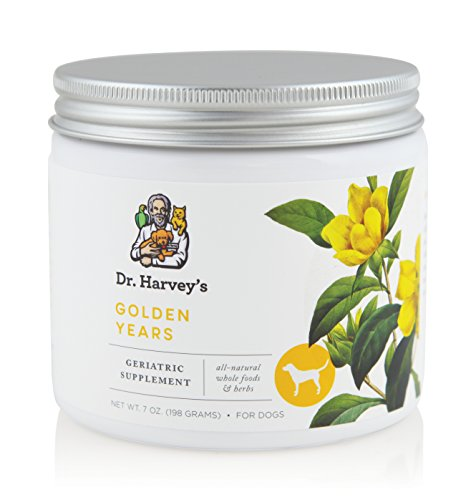 Dr. Harvey s Golden Years Geriatric Herbal Supplement for Senior Dogs  7 Oz