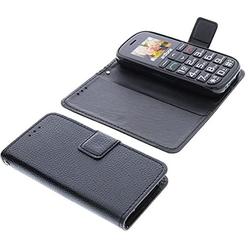 foto-kontor Tasche für Artfone CS188 Book Style schwarz Schutz Hülle Buch