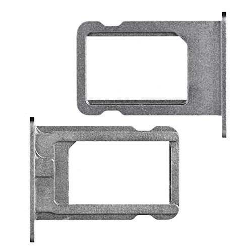 BisLinks Replacement SIM Card Tray Holder for iPhone 5S SE Space Grey/Black