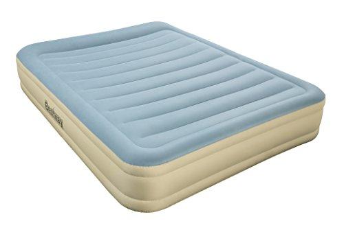 Bestway Essence Doppelbett Luftbett selbstaufblasend mit eingebauter elektrischer Pumpe, 203x152x36 cm