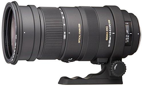 Sigma 50-500 mm Objektiv 738_A F4-6,3 APO DG OS HSM - der Mount Pentax - Filtergröße : 95