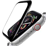 ZPIAR [3 Pack] Screen Protector for Apple Watch 44mm SE/Series 6/5/4 Full cover edges Anti-Scratch Bubble Free Waterproof Ultra HD Flexible Film 3D Full Screen Coverage Protector for iWatch SE/Series 6/5/4 (44mm)