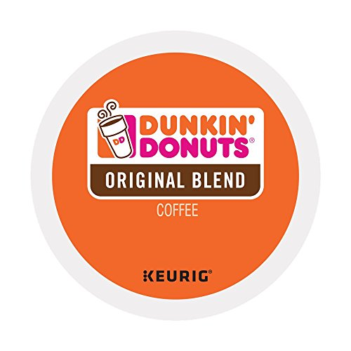 Dunkin Donuts K-Cups Original Flavor - 24 Count (Pack of 3), Total of 72 Count - Packaging May Vary