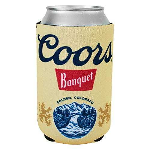Coors Banquete cerveza lata aislador enfriador