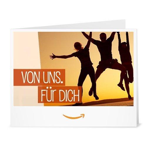 Amazon.de Gutschein zum Drucken (Von uns. Für dich.)