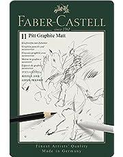 Faber-Castell Grafiet Potlood Set Pitt Grafiet Matt Tin van 11