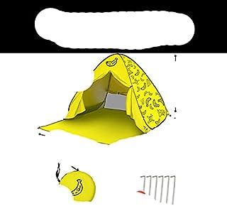 Tält för strand picknicktält solskydd, aromatisk pop up hopfällbara bärbara tält för strand utomhus tält