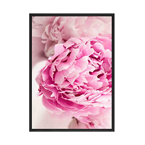 XIANGPEIFBH Canvas painting Peony Flower Print Large Wall Art Posters and Print Poster Sunflower Wall Pictures for Living Room 40x60 cm/15.7' x 23.6' No Frame