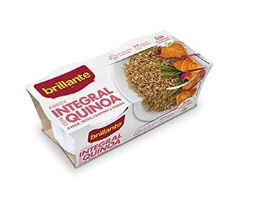 Arroz integral con Quinoa, Avena, Trigo, Centeno y Cebada. 2 x 125 gr.
