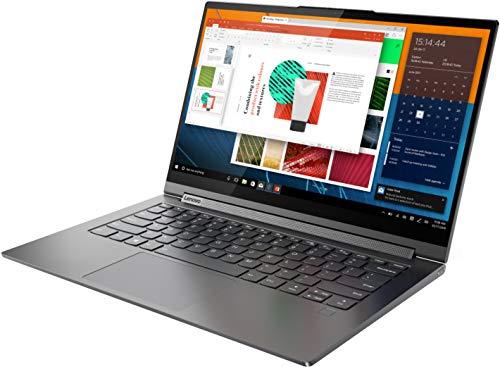 Product Image 1: Lenovo Yoga C940 2-in-1 14″ Ultra-Light Touch-Screen Laptop, FHD, Intel Core i7- 1065G7, 12GB RAM 1TB PCIe SSD, Fingerprint Reader,Backlit Keyboard, HD Webcam, Thunderbolt 3, Iron Gray, Windows 10