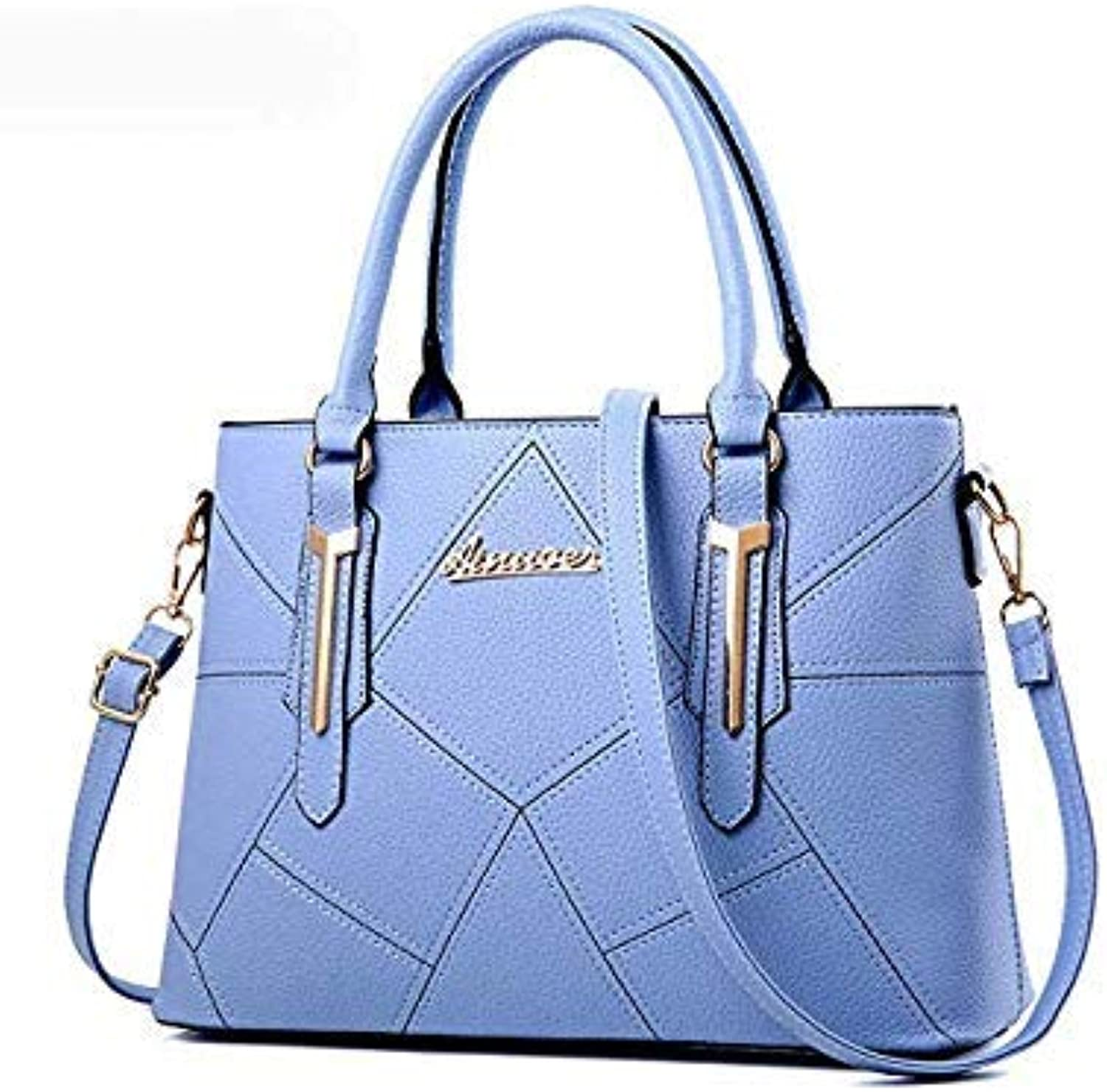 Bloomerang Ainvoev Women Handbags Pouch Fashion Ladies Totes Women Shoulder Messenger Bags Big Capacity Bolsa High Quality Mother Bag a3415 color Sky blueee Women Totes 33x13x24cm