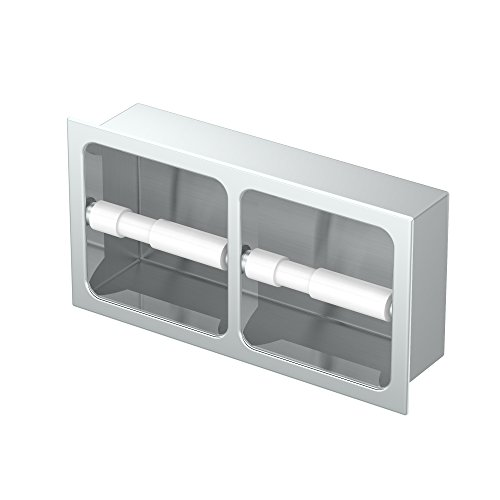 Top 10 best selling list for in wall double toilet paper holder
