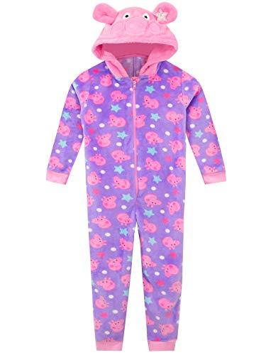 Peppa Pig Pijama Entera para niñas Rosa 3-4 Años