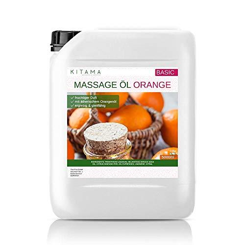 Massaggio Olio Aroma Arancione 5-litri (5000ml) - MyThaiMassage - Olio aromatico per Thai Massage Wellness Spa