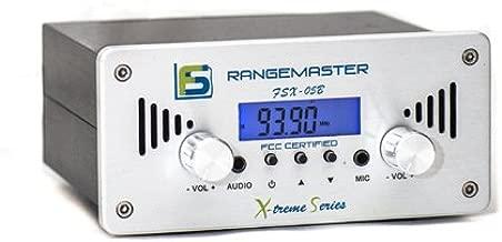 100w fm transmitter range