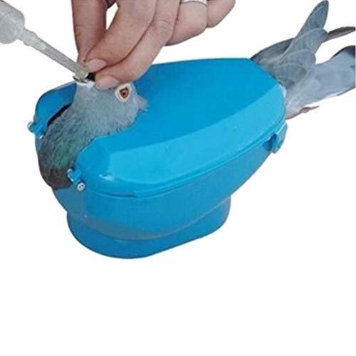 Case Cover 1pc Plastik Gestell Zur Injektion Fütterung Kann Durch Einen Einzelnen Vogel Gerät Betrieben Werden (zufällige Farbe)