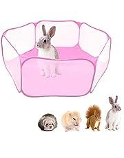 NCONCO Dierenbox Kooitent Voor Kleine Dieren Draagbare Pop-Open Binnen- / Buitenhek Voor Cavia's Konijnen Hamsters Chinchilla's en Egels
