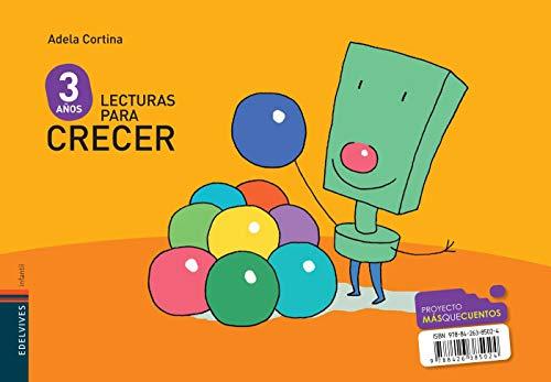 Lecturas para crecer Infantil 3 años (Mas que cuentos) - 9788426385024