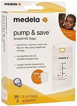 Medela Pump & Save Breastmilk Bags - 20 Pack (Set of 2)