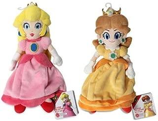 Princess Peach & Daisy Plush (Set of 2) Sanei Super Mario All Star Collection