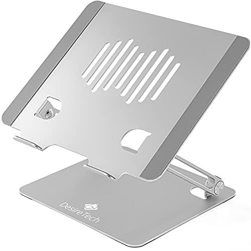Soporte para ordenador portátil - Soporte de escritorio adjustable para ordenador portátil(Plata)