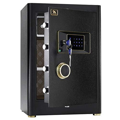 TIGERKING Security Home Safe, Safe Box- 2.05 Cubic...