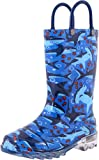 Western Chief Boy's Waterproof Rain Boots That Light Up with...