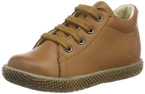 Naturino Falcotto Anemone, Chaussures de Gymnastique Garçon Unisex Kinder, Marron (Cognac 0d06), 23 EU