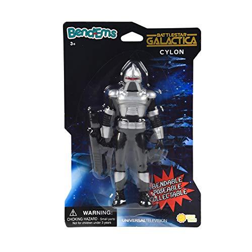 Sunny Days Entertainment BendEms Collectible Posable Action Figure - Battle Star Galactica - Cylon, Multi (220017)