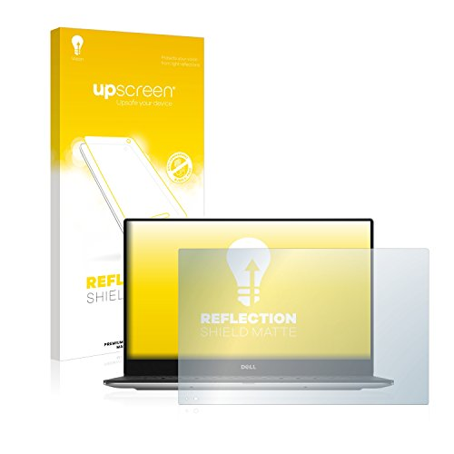 upscreen Entspiegelungs-Schutzfolie kompatibel mit Dell XPS 13 9360 Non-Touch – Anti-Reflex Bildschirmschutz-Folie Matt