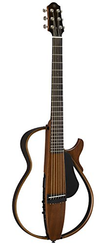 Yamaha SLG200S NT Steel String Silent Guitar with Hard...