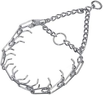 Herm SPRENGER Ultra Plus Prong Dog Training Collar 3 0 mm x 18 Neck Size 3 0 mm x 20 Chain Length product image