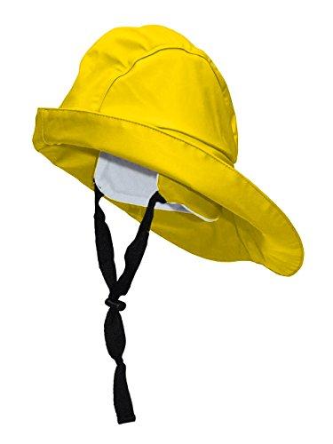 crazy4sailing Damen Herren Südwester Pro, Farbe:gelb, Größe:M