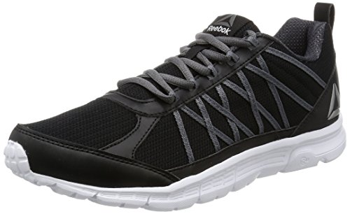 Reebok Speedlux 2.0, Zapatillas de Trail Running Hombre, Negro (Black/Ash Grey/Pewter/White), 40 EU
