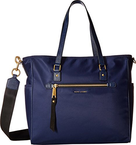 Marc Jacobs Trooper Babybag - Borse a mano Donna, Blue (Midnight Blue), 44x33x15 cm (W x H L)