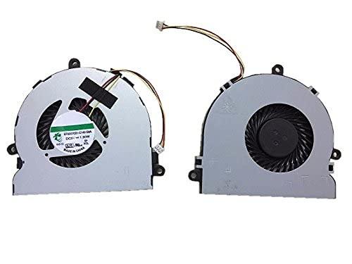 wangch Ventilador de refrigeración de CPU para computadora portátil Compatible con DELL Inspiron 15R 3521 3537 5521 5537 M531R 5535 2521 EF60070S1-C050-G99 DC5V 1.90W Nuevo.