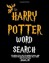 Harry Potter Word Search - The Unofficial Puzzle Book With Hundreds Of Magical Words To Increase Your Knowledge On Hogwarts, Spells, Charms, Hexes, Facts And Trivia