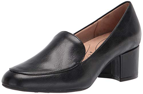 LifeStride Women's Trixie Loafer, Black, 8 M US