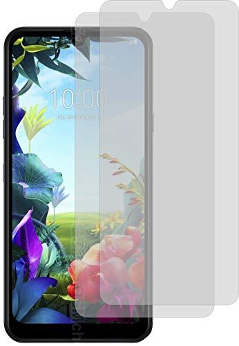 4ProTec I 2X Schutzfolie KLAR passexakt für LG K40S Bildschirmschutzfolie Displayschutzfolie Schutzhülle Bildschirmschutz Bildschirmfolie Folie