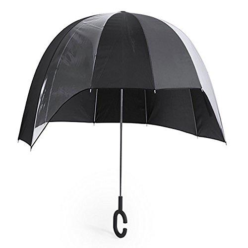 Mächtiger XXL Regenschirm - Imperiales Schwarz