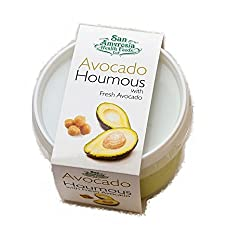 San Amvrosia Health Foods Avocado Houmous, 228 g